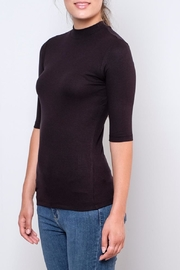 Vero Moda Fitted Mock-Neck Top - Front full body
