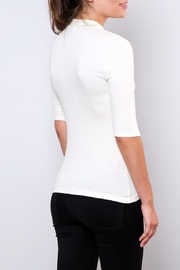 Vero Moda Fitted Mock-Neck Top - Side cropped