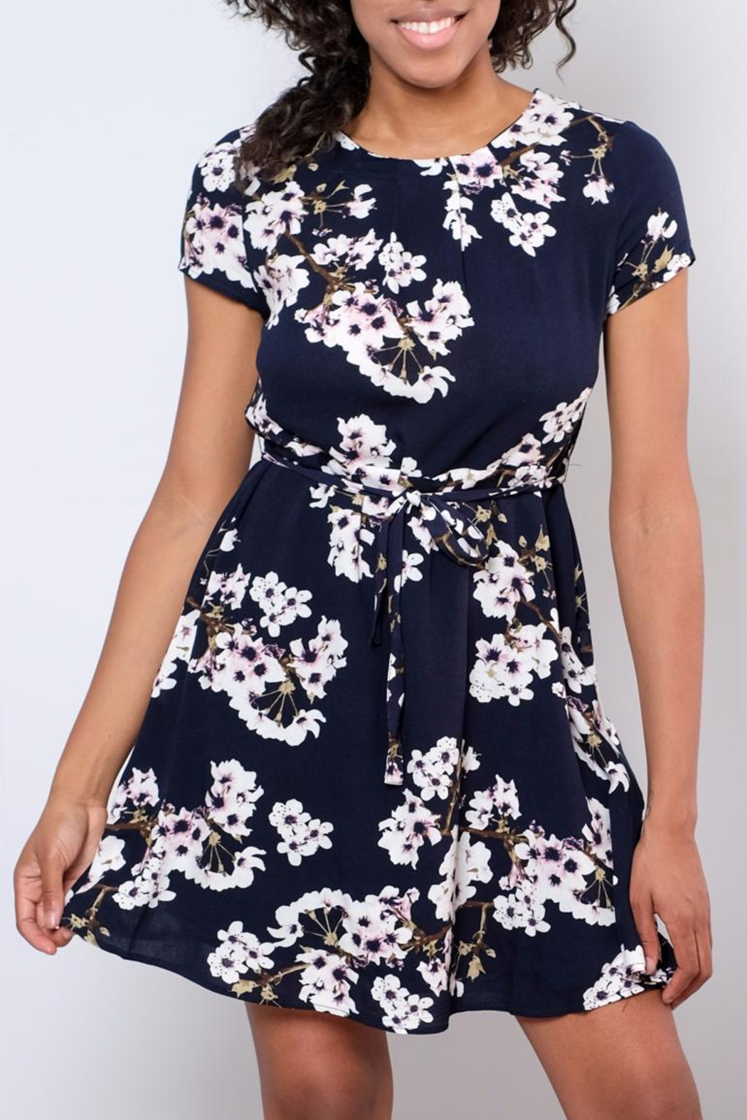 Vero Moda Occasion Floral Dress - Front Full Image