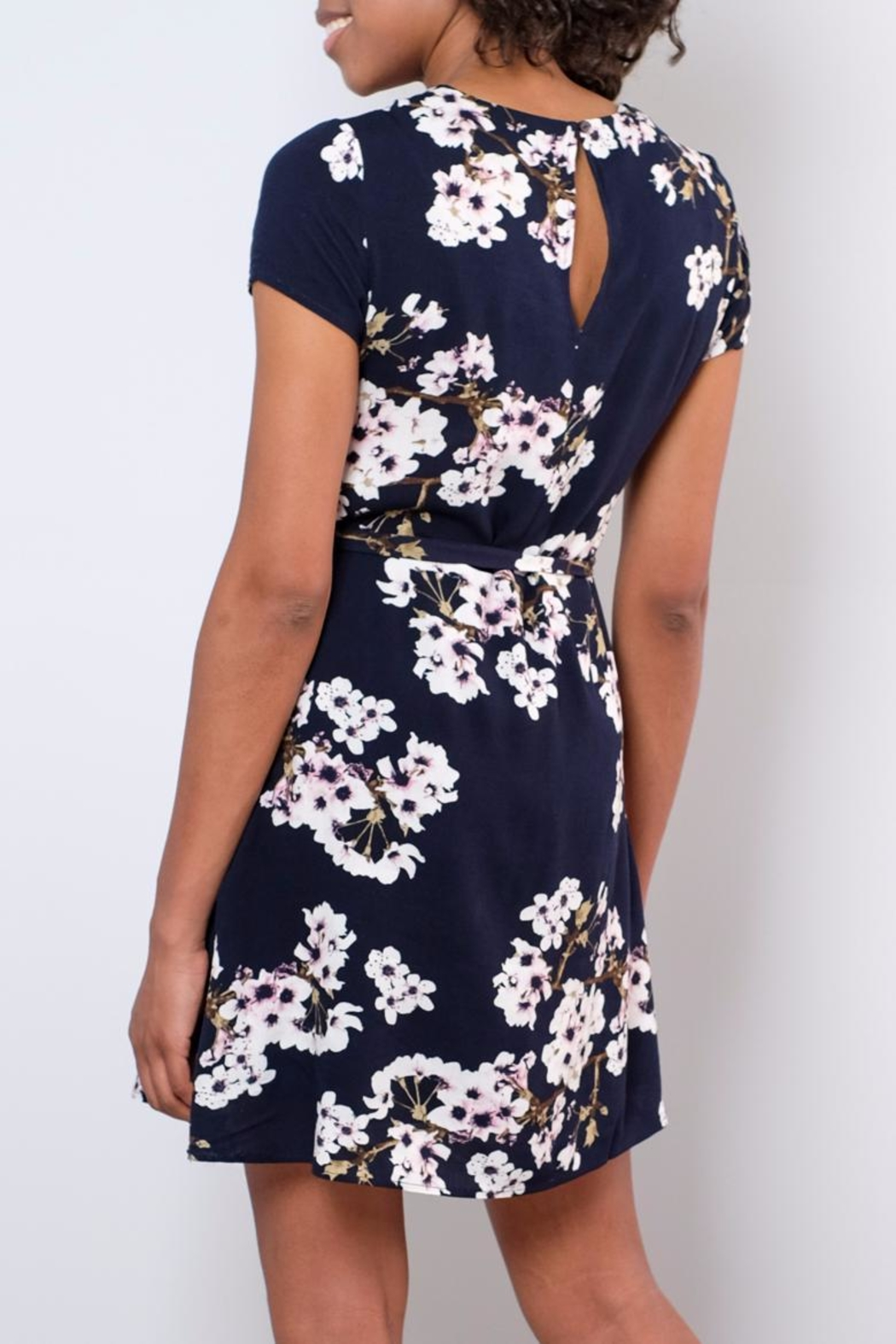 Vero Moda Occasion Floral Dress - Back Cropped Image
