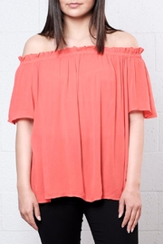 Vero Moda Off Shoulder Crepe Top - Product Mini Image