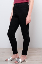 Vero Moda Raw Ankle Jeans - Side cropped