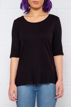 Shoptiques Product: Ribbed 2/4 Top