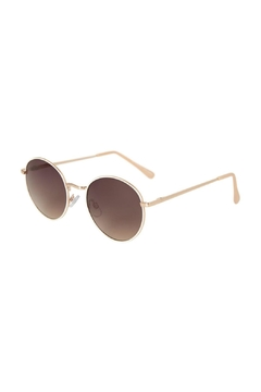 Vero Moda Round Love Sunglasses - Alternate List Image