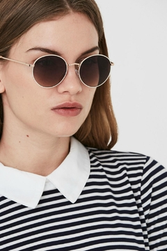 Vero Moda Round Love Sunglasses - Product List Image