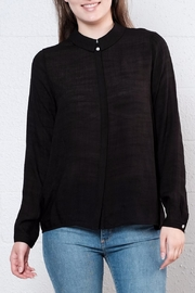 Vero Moda Ruffle Back Shirt - Product Mini Image