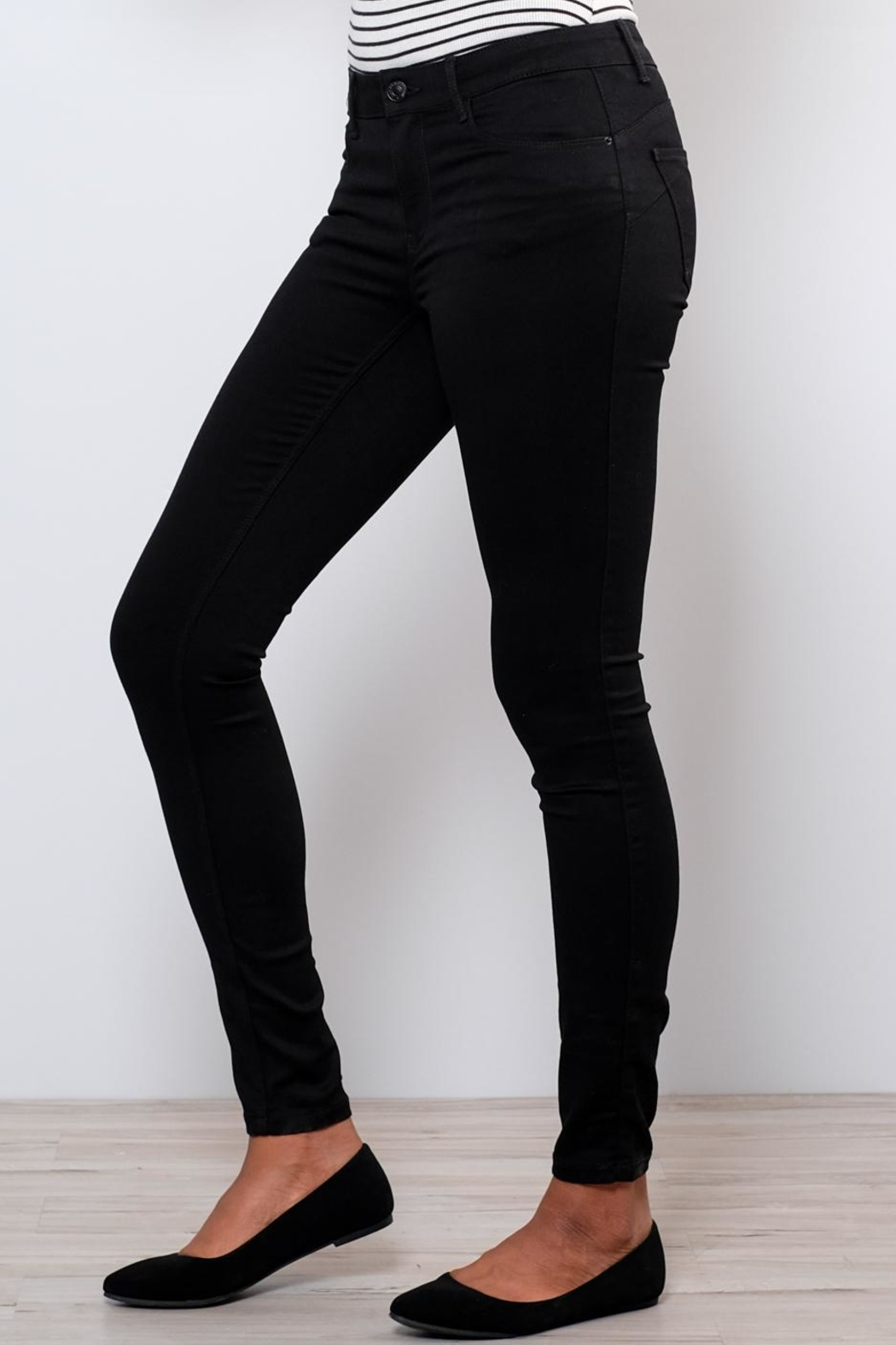 Vero Moda Shape-Up Skinny Jeans - Side Cropped Image