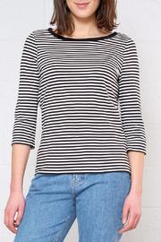 Vero Moda Stripe Three-Quarter Sleeve Top - Product Mini Image