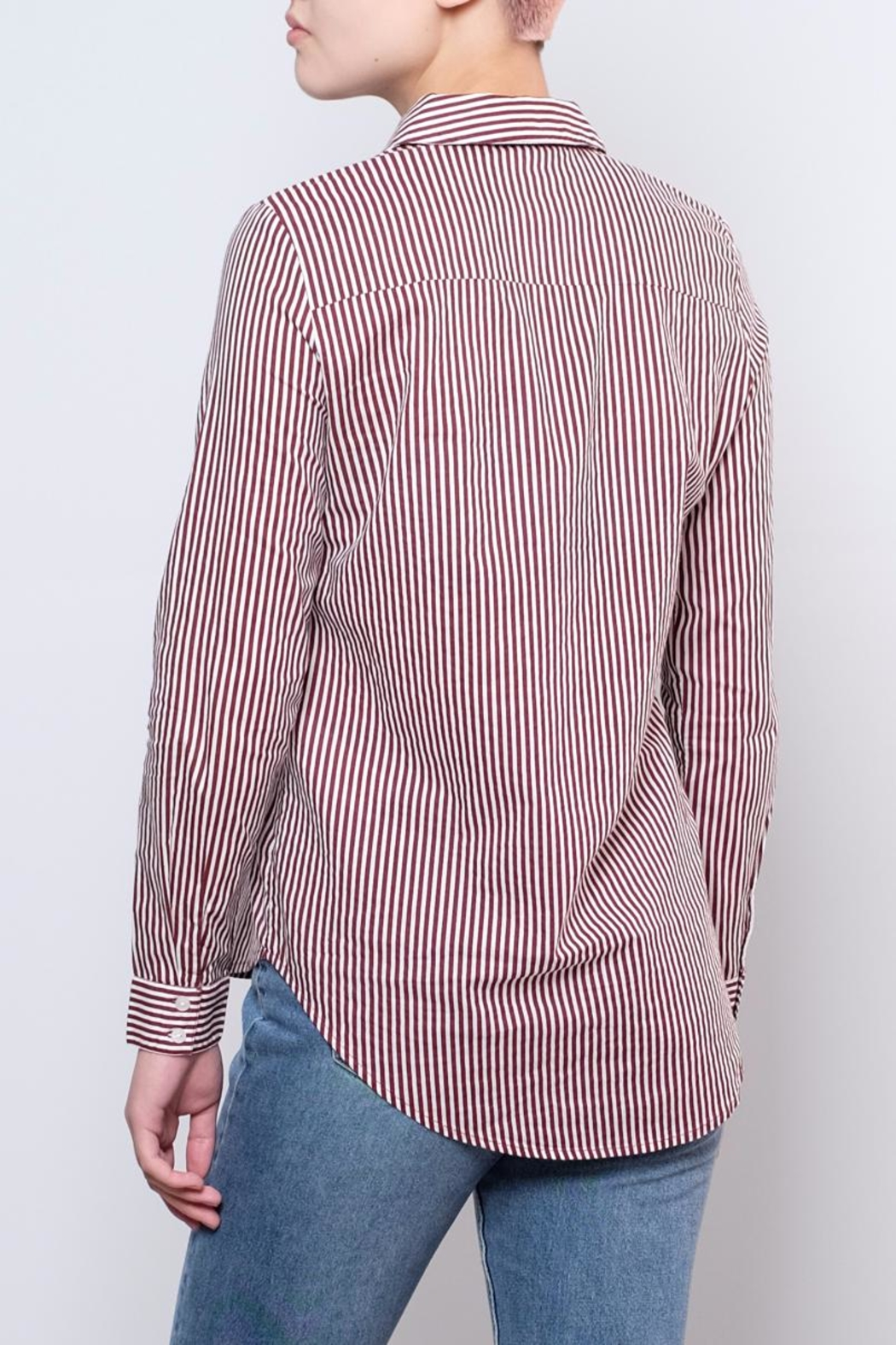 Vero Moda Striped Shirt - Side Cropped Image
