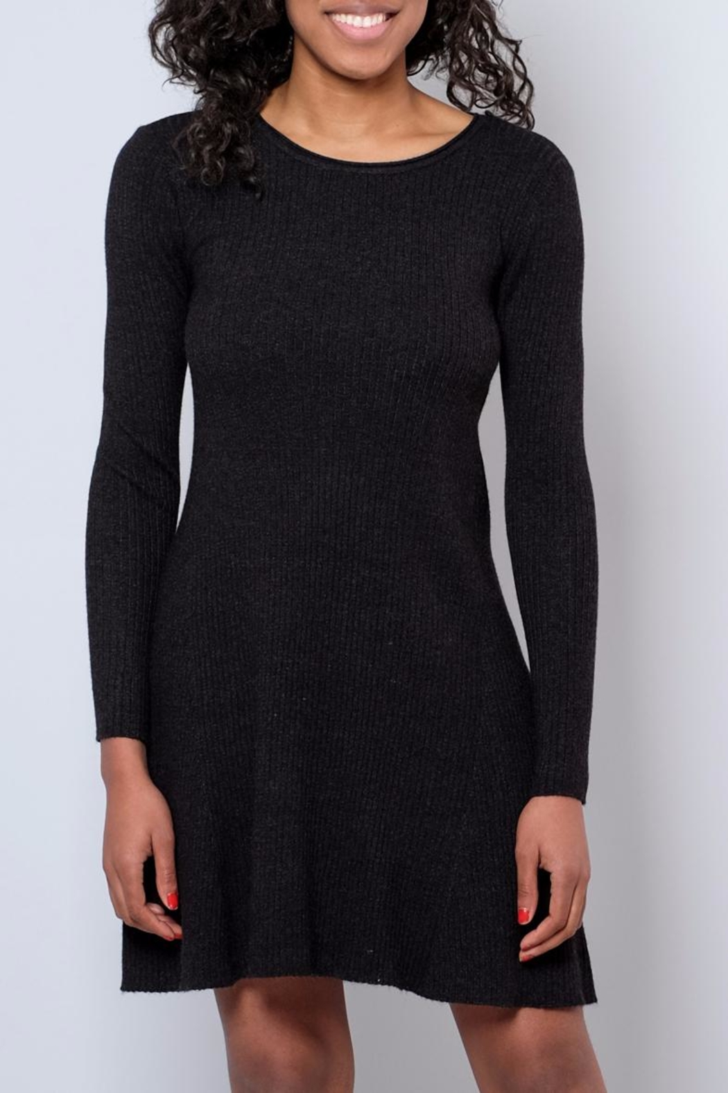 Vero Moda Sweater Dress - Front Cropped Image