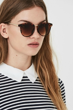 Vero Moda Tortoise Love Sunglasses - Product List Image