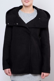 Vero Moda Wool Hooded Jacket - Front cropped