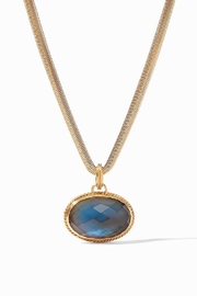 Julie Vos VERONA STATEMENT NECKLACE-AZURE BLUE - Product Mini Image