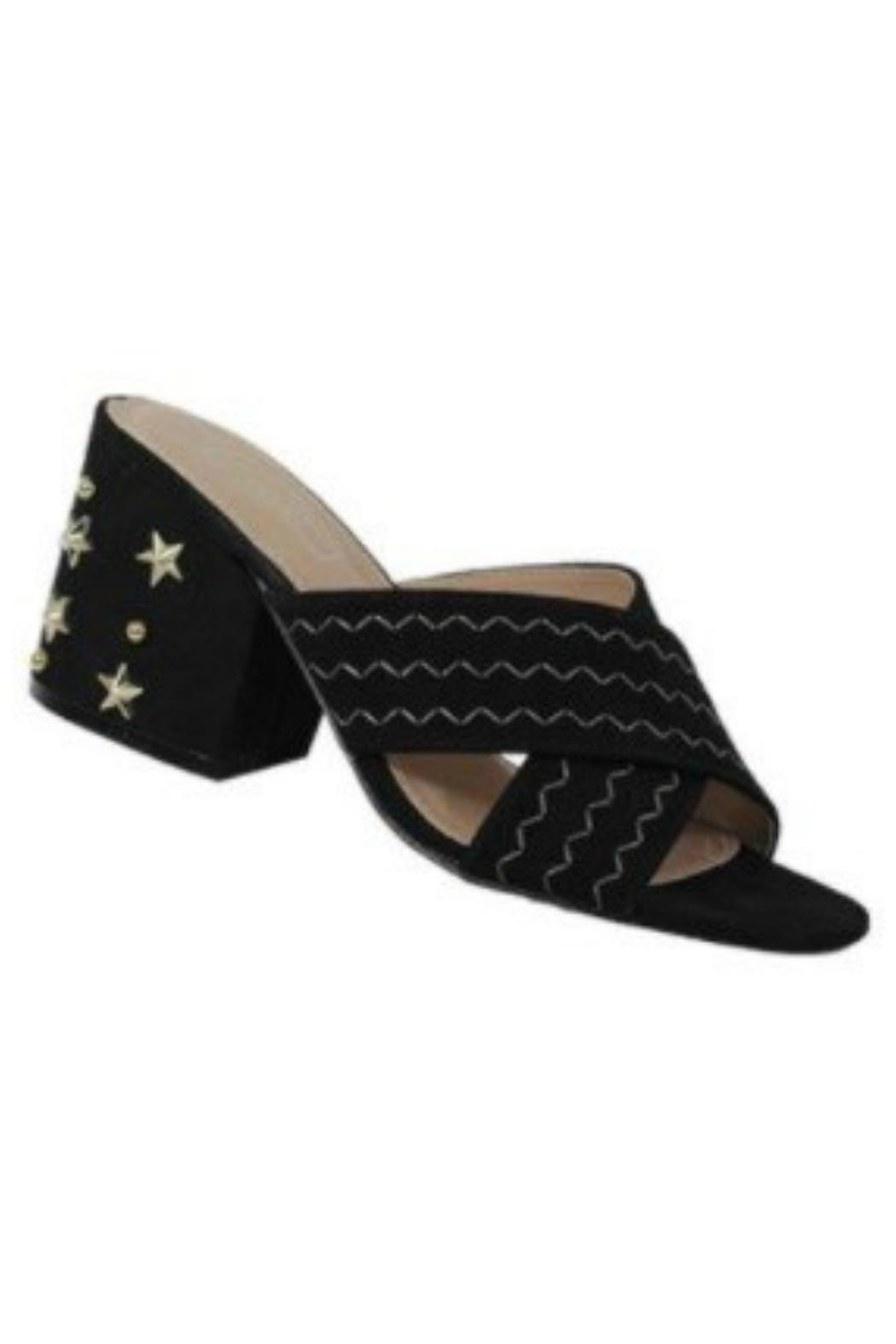 Verona Collections  Block Heel Sandal - Front Cropped Image