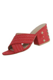 Verona Collections  Block Heel Sandal - Side cropped