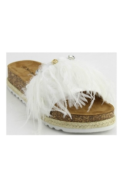 Verona Collections  Feather Sandal - Alternate List Image