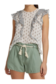Veronica Beard Aira Top - Front cropped