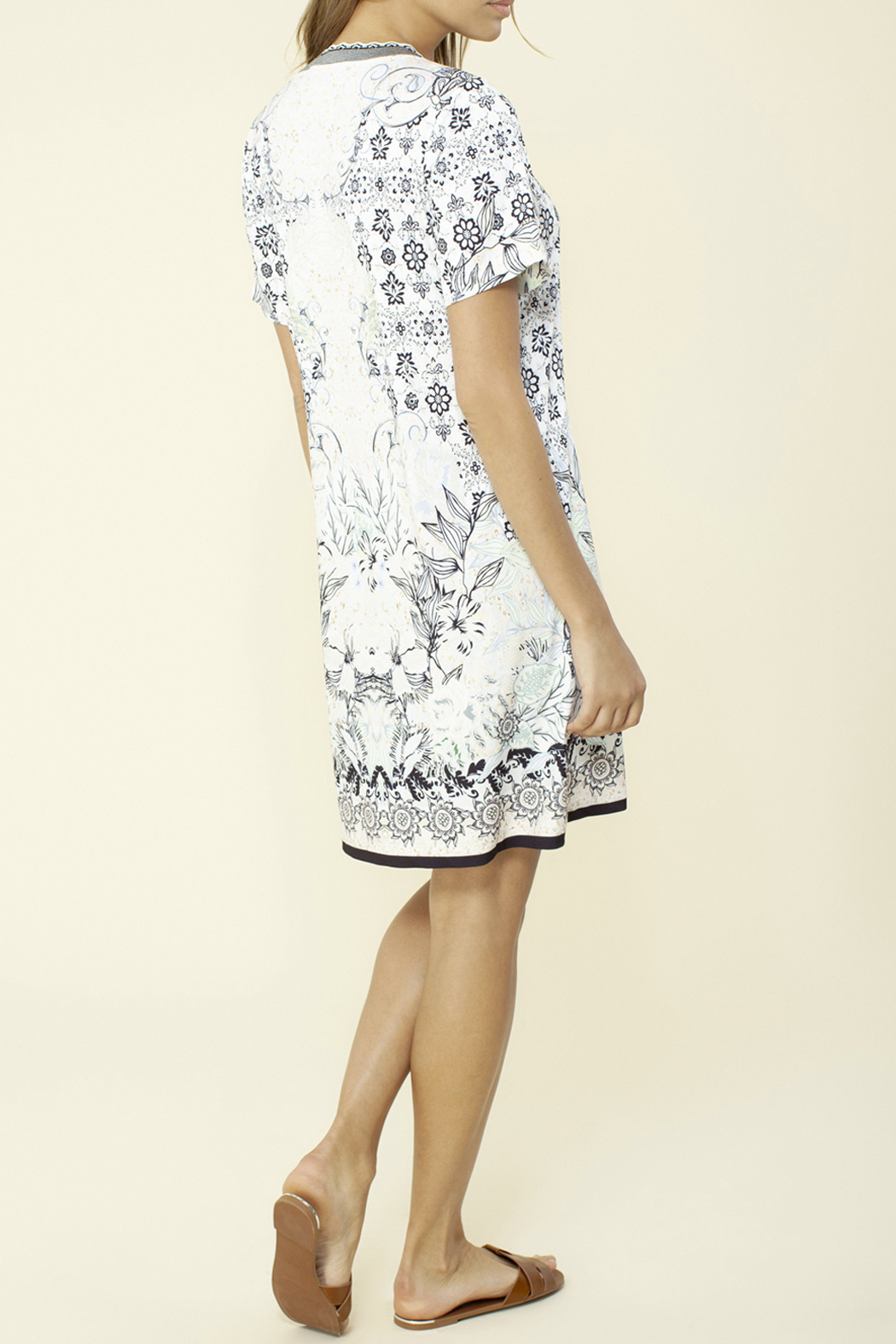 Hale Bob Veronica Jersey Dress - Front Full Image