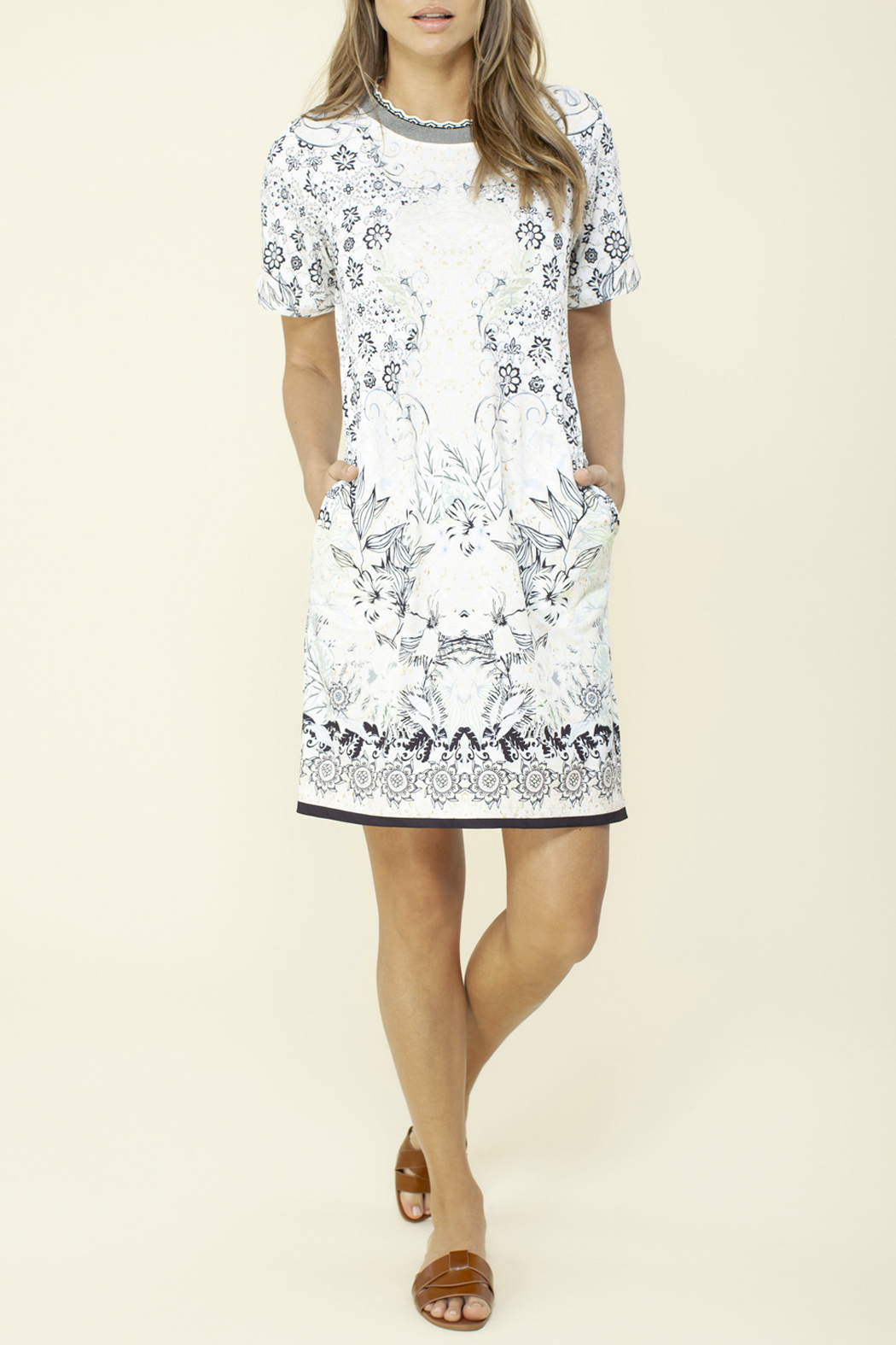 Hale Bob Veronica Jersey Dress - Front Cropped Image
