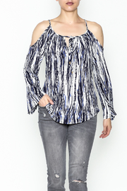 Veronica M Amy Cold Shoulder Top - Front cropped