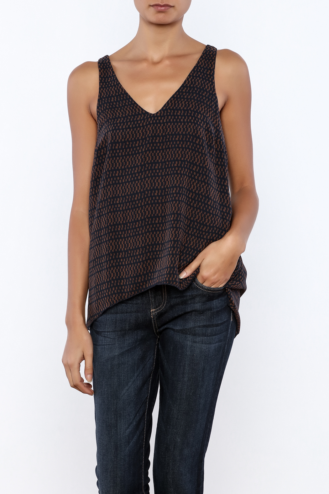 Veronica M Layered Tank - Front Cropped Image