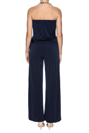 Veronica M Navy Jumpsuit - Back cropped