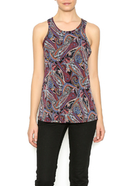 Veronica M Paisley Printed Tank - Front cropped