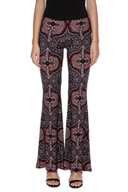 Veronica M Print Flare Pant - Side cropped
