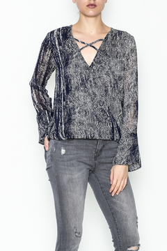 Shoptiques Product: Sheer X Front Top