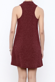 Veronica M Sleeveless Sweater Dress - Back cropped