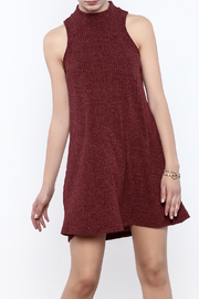 Veronica M Sleeveless Sweater Dress - Product Mini Image