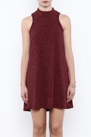 Veronica M Sleeveless Sweater Dress - Side cropped