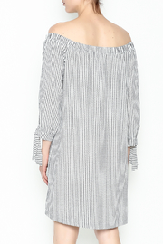 Veronica M Tatiana Striped Dress - Back cropped