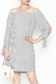 Veronica M Tatiana Striped Dress - Product Mini Image