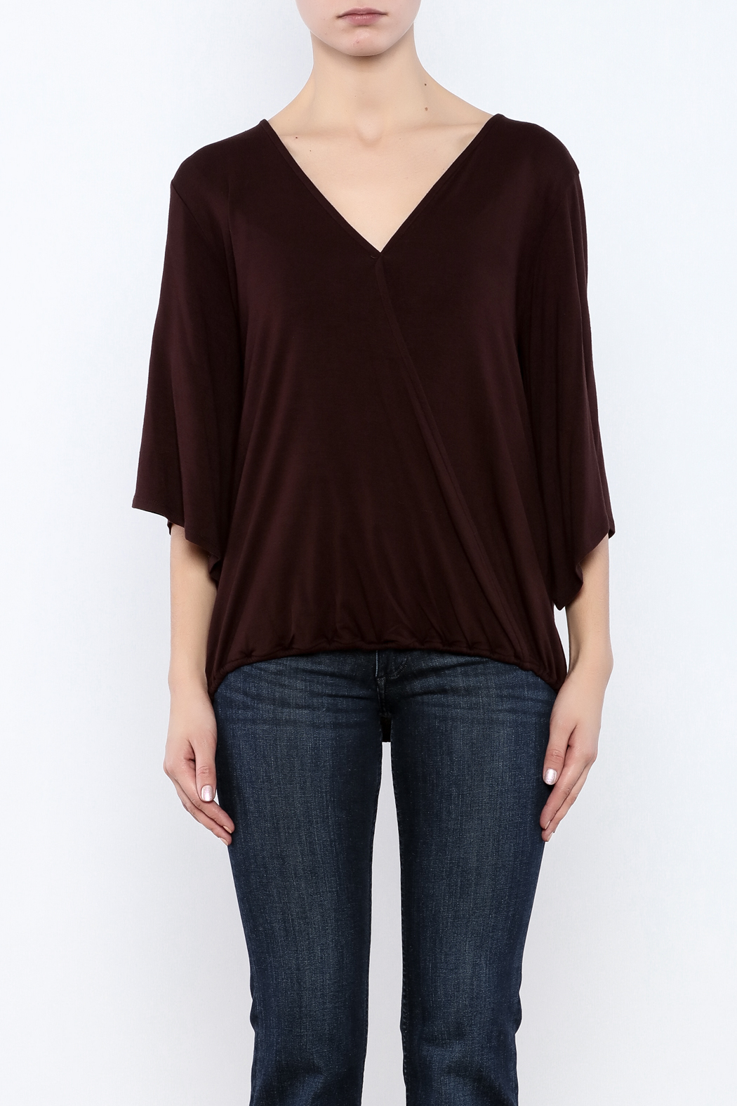 Veronica M Versatile Surplus Top - Side Cropped Image
