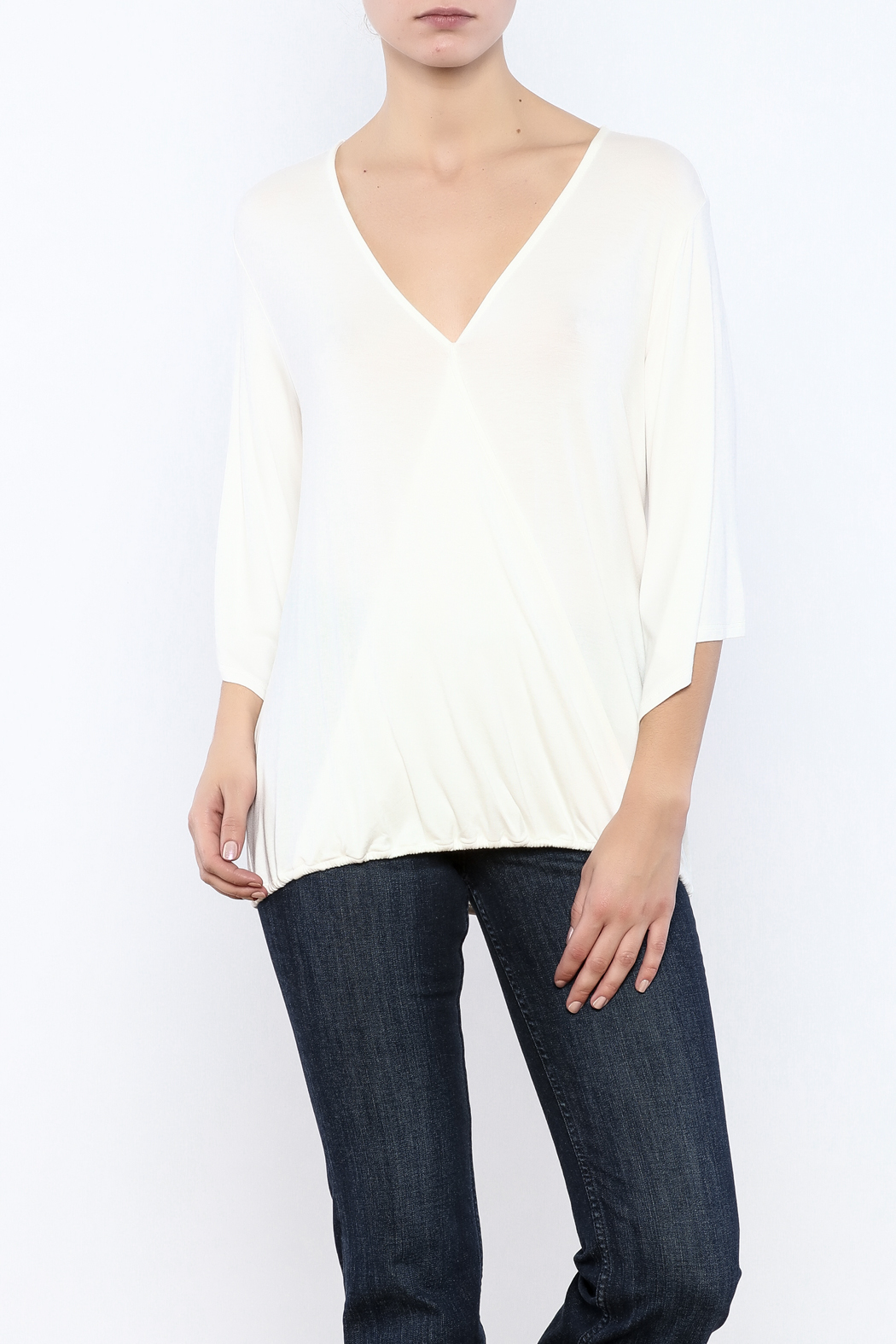 Veronica M Versatile Surplus Top - Front Cropped Image
