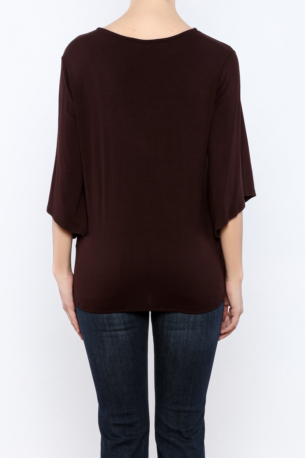 Veronica M Versatile Surplus Top - Back Cropped Image