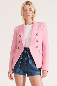 Veronica Beard Miller Dickey Jacket Pink - Product List Image
