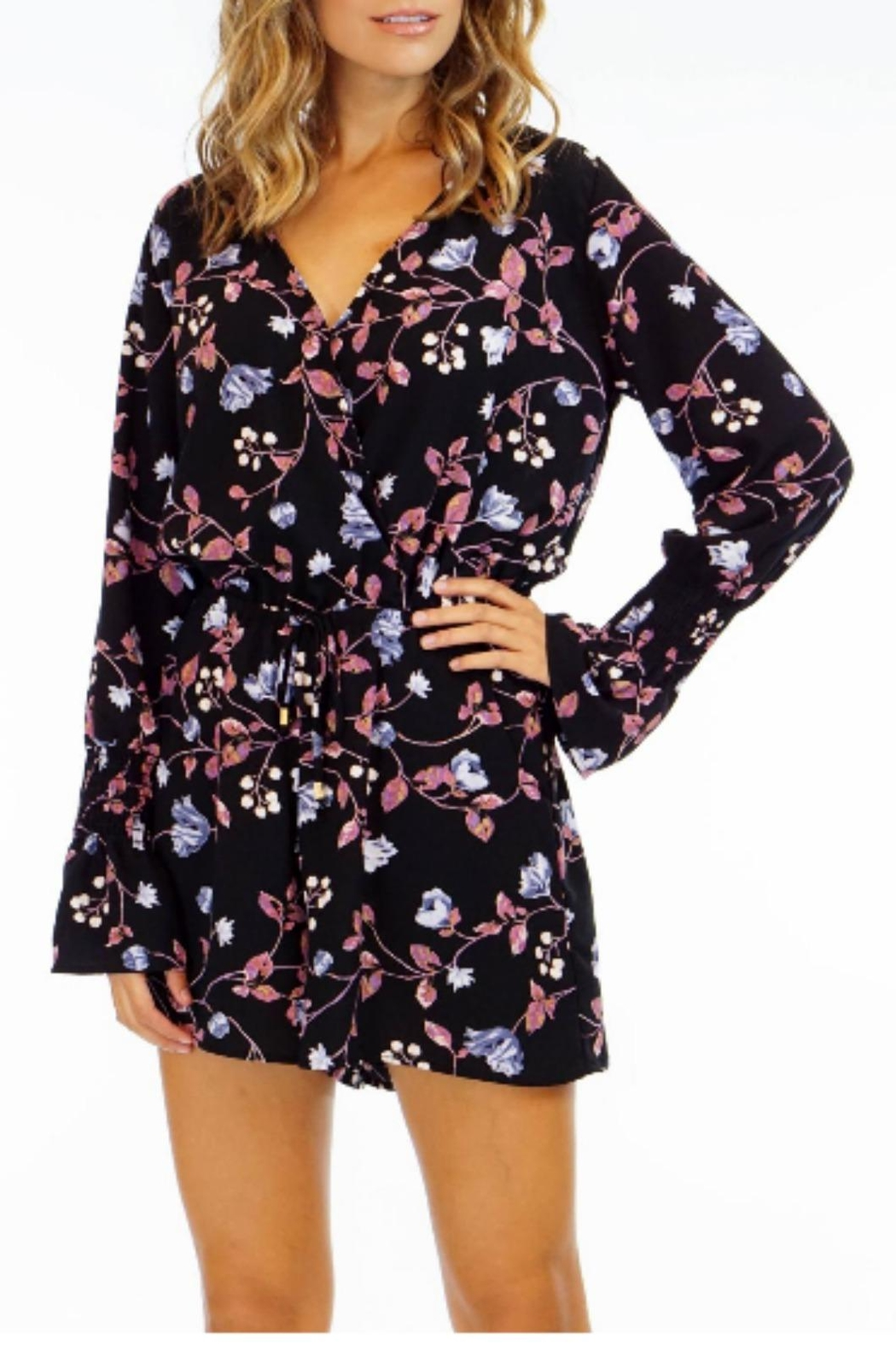 47cf16dca48 Veronica M Black Floral Romper from New Jersey by Wink Boutique ...