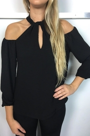 Veronica M Black Halter Blouse - Product Mini Image
