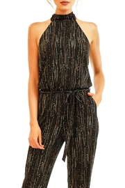 Veronica M Black Halter Jumpsuit - Product Mini Image