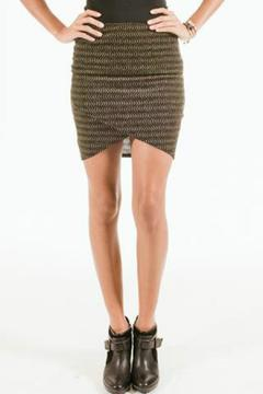 Shoptiques Product: Gold Mini Skirt