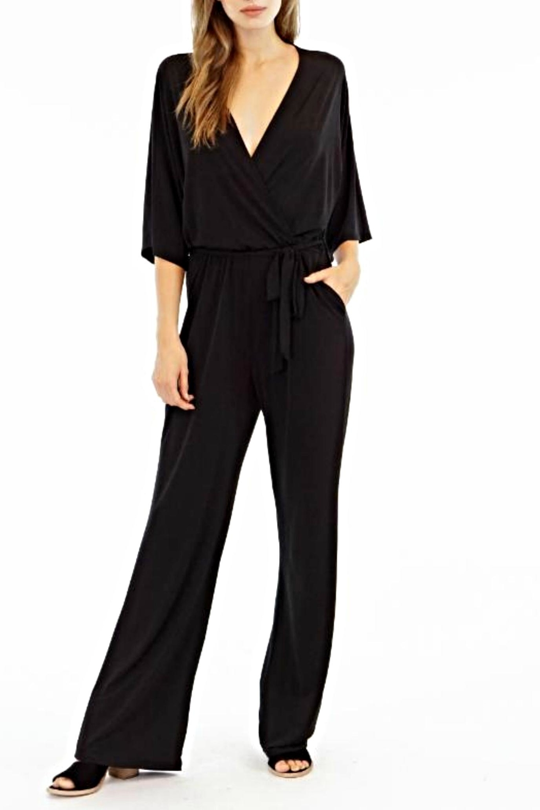Veronica M Kimono Jumpsuit - Front Cropped Image