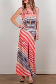Veronica M Maxi Dress in Printed Pink - Product Mini Image