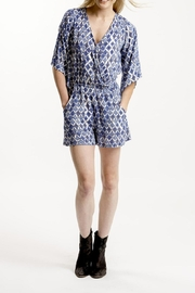 Veronica M Patterned Romper - Product Mini Image