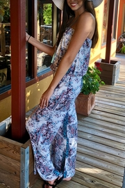 Veronica M Strapless Print Jumpsuit - Side cropped