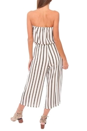 Veronica M Strapless Culotte Jumpsuit - Side cropped