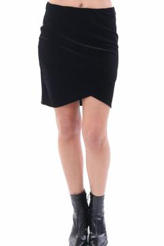 Shoptiques Product: Velvet Mini Skirt