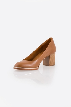 Shoptiques Product: Brown Block Heel