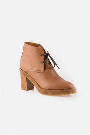 Veronique Branquinho Brown Lace Boot - Side cropped